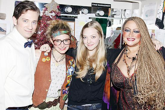 Amanda Seyfried and Dominic Cooper at Rock of Ages - Tom Lenk - Lauren Molina - Amanda Seyfried - Michele Mais