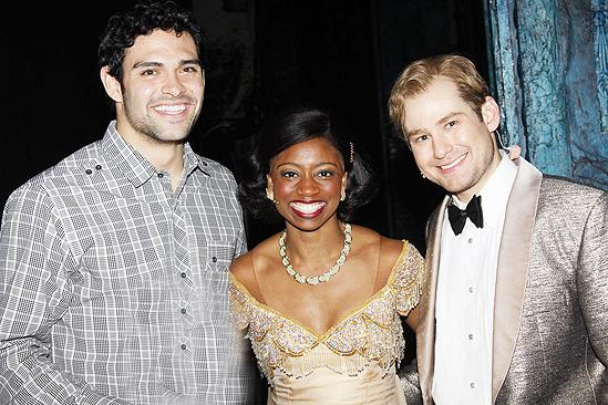 Mark Sanchez at Memphis - Mark Sanchez - Montego Glover - Chad Kimball