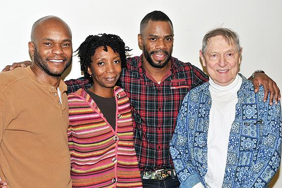 Scottsboro Boys meet and greet  Forrest McClendon  Sharon Washington  Colman Domingo  John Cullum