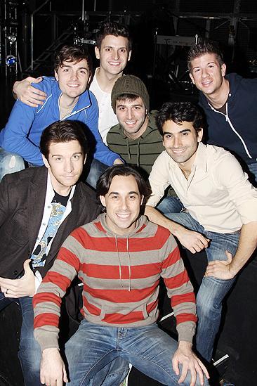 Altar Boyz reunion 2009 – Mitch Dean - Tomasso Antico - Mauricio Perez - Michael Kadin Craig - Lee Markham  - Ryan Duncan - Andy Karl