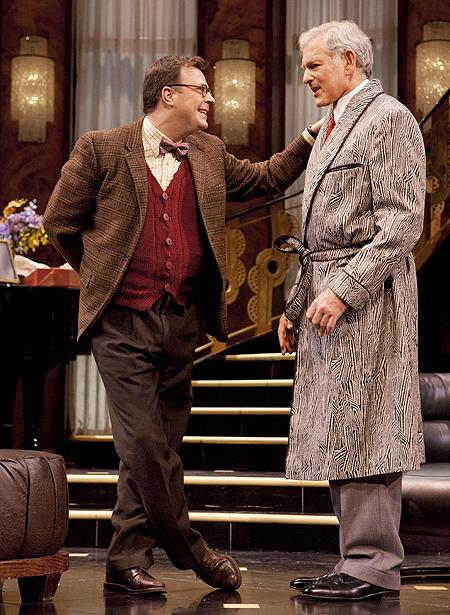 Present Laughter - Show Photos - Victor Garber - Brooks Ashmanskas