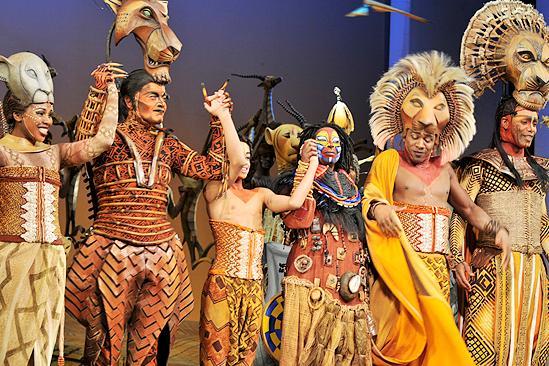 Whoopi Goldberg at The Lion King – bow
