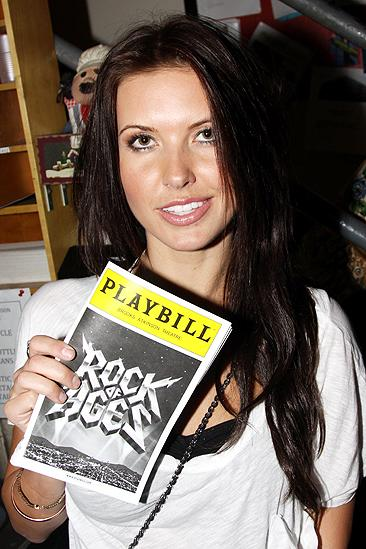 Audrina Patridge and Ryan Cabrera at Rock of Ages – Audrina Patridge