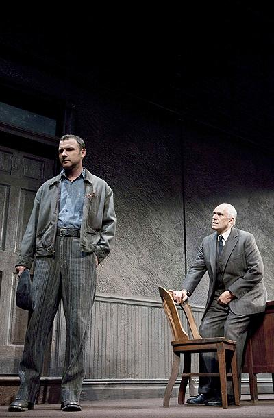 A View from the Bridge - Show Photos - Liev Schreiber - Michael Cristofer