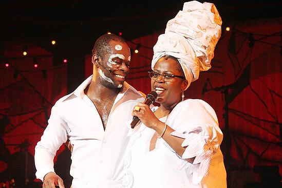 Fela! Actor's Fund performance - Sahr Ngaujah - Lillias White
