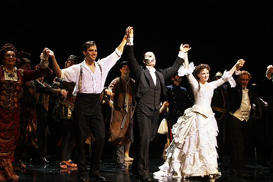 Phantom Turns 22 – Ryan Silverman – Jennifer Hope Wills – John Cudia (curtain call)