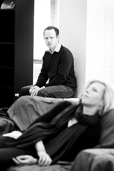 Next Fall Rehearsal - Sean Dugan - Maddie Corman