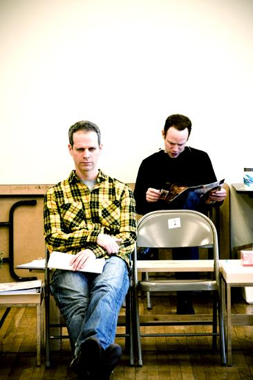 Next Fall Rehearsal - Patrick Breen - Sean Dugan