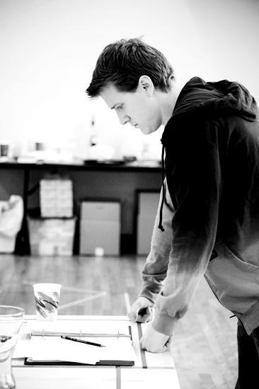 Next Fall Rehearsal - Patrick Heusinger