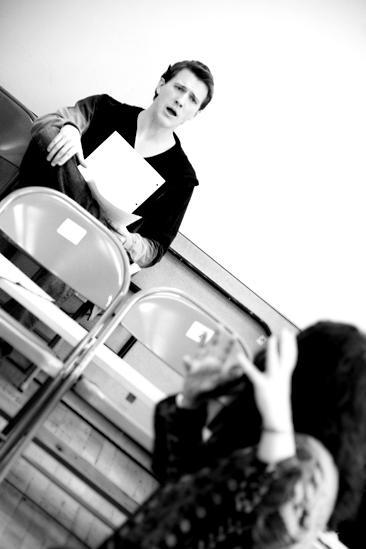 Next Fall Rehearsal - Patrick Heusinger - Sheryl Kaller