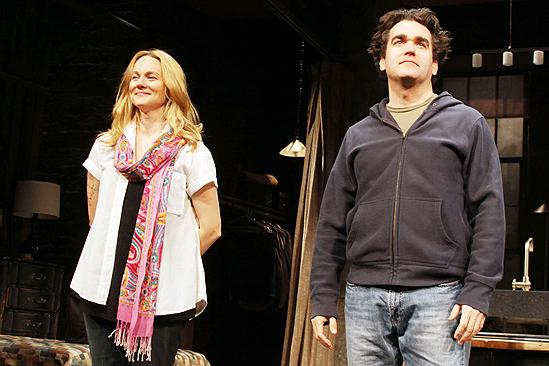 Time Stands Still Opening Night – Laura Linney – Brian d'Arcy James (curtain call)