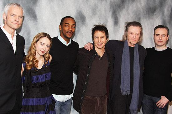 A Behanding in Spokane meet and greet – Martin McDonagh – Zoe Kazan – Anthony Mackie – Sam Rockwell – Christopher Walken – John Crowley