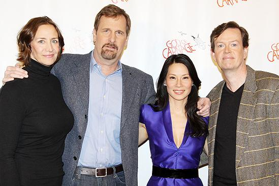 Third Cast of God of Carnage – Janet McTeer – Jeff Daniels – Lucy Liu – Dylan Baker