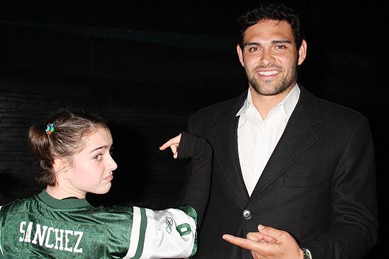 Mark Sanchez at Billy Elliot - Tessa Netting - Mark Sanchez