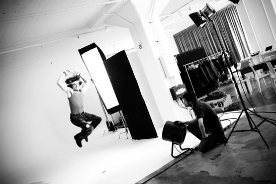 Hair 2010 Ad Photo Shoot - Larkin Bogen (jump)