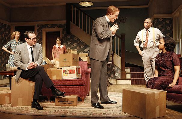 "claybourne park ""clybourne park"" at walter kerr theatre - any drama seeking to confront racial prejudice is automatically fraught with challenges it is a delicate balance that."