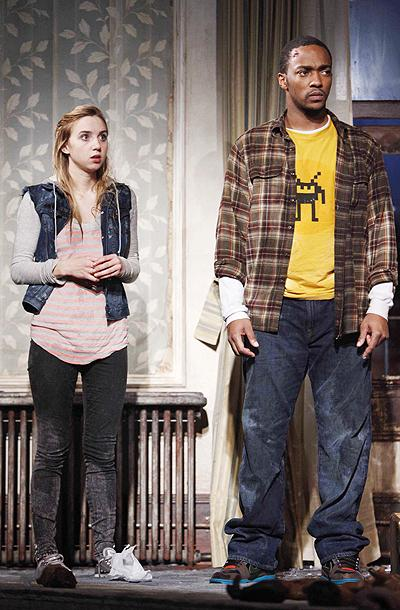 Show Photos - A Behanding in Spokane - Zoe Kazan - Anthony Mackie