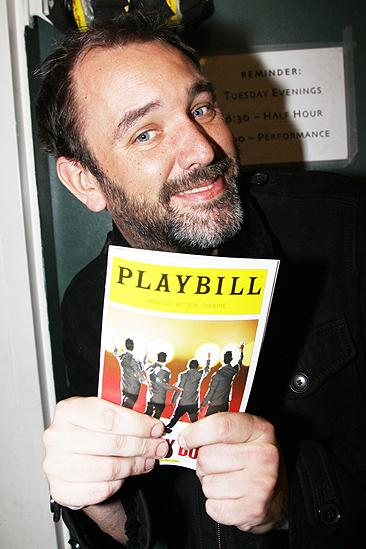 Trey Parker at Jersey Boys  Trey Parker
