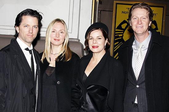 Behanding in Spokane Opening Night – Hope Davis – Marcia Gay Harden – Jon Patrick Walker – Thaddeus Scheel