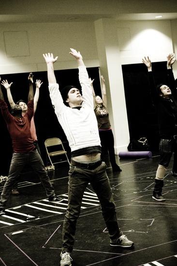 Hair Replacement Cast Rehearsal – Kyle Riabko (stretch)