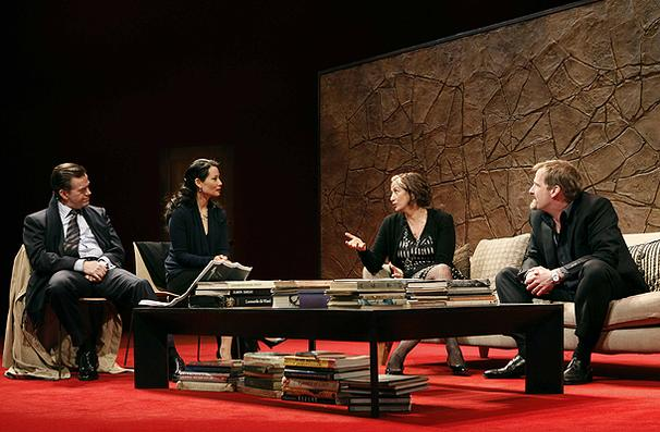 Show Photos - God of Carnage - third cast - Dylan Baker - Lucy Liu - Janet McTeer - Jeff Daniels