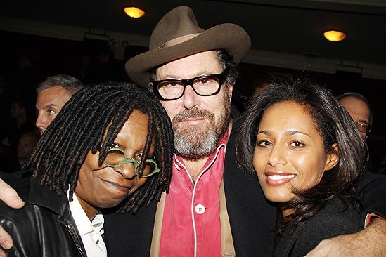Next Fall First Opening - Whoopi Goldberg - Julian Schnabel - Rula Jebreal