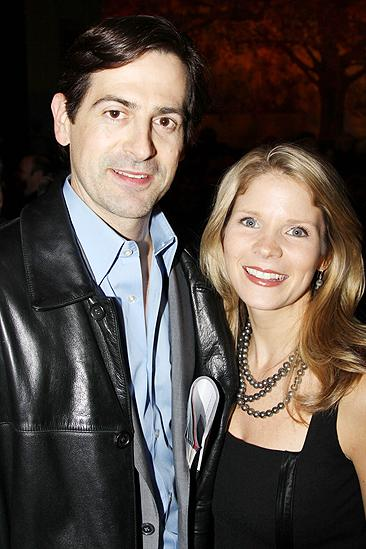 Next Fall Opening Night  Kelli OHara  Greg Naughton