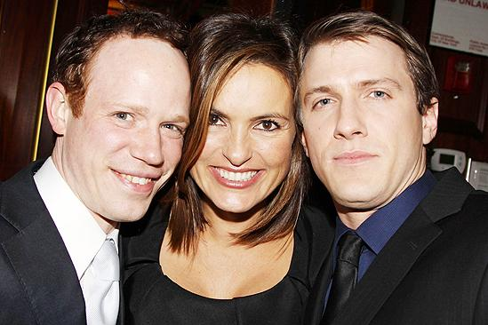 Next Fall Opening Night – Sean Dugan – Mariska Hargitay – Patrick Heusinger