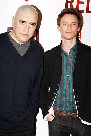 Red meet and greet – Alfred Molina – Eddie Redmayne