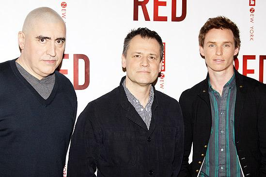 Red meet and greet – Alfred Molina – Michael Grandage - Eddie Redmayne