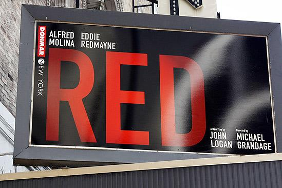 Red meet and greet – sign
