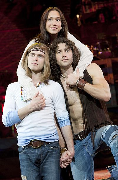 Show Photos - Hair - Kyle Riabko - Diana DeGarmo - Ace Young