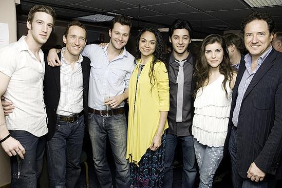 West Side Story first anniversary – John Arthur Greene – Jeffrey Seller – Matthew Hydzik – Karen Olivo – George Akram - Josefina Scaglione – Kevin McCollum