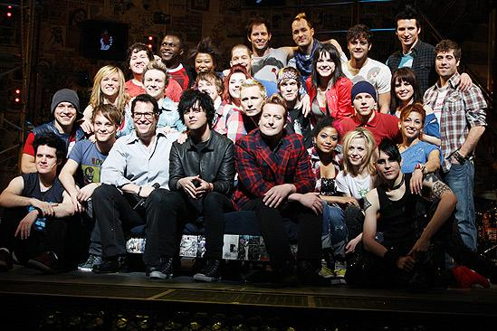American Idiot Sound Check - Full Group