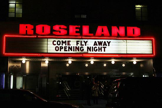 Come Fly Away opening – Roseland