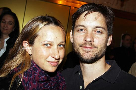 Red opening – Jennifer Meyer-Maguire – Tobey Maguire