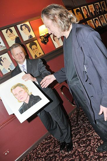 Christopher Walken at Sardi's – Max Klimavicius - Christopher Walken