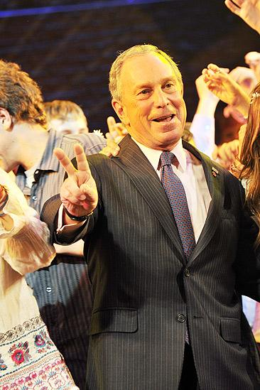 Mayor Bloomberg at Hair – Michael Bloomberg