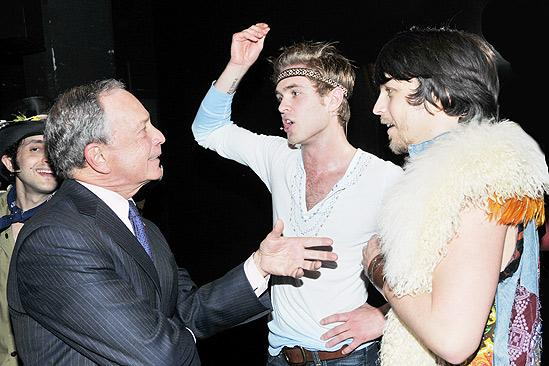 Mayor Bloomberg at Hair – Kyle Riabko – Jason Wooten – Michael Bloomberg
