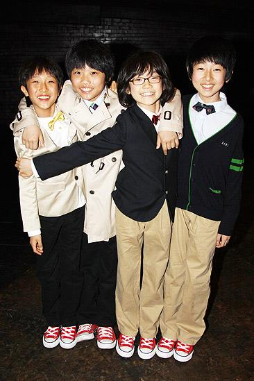 Korean Cast at Billy Elliot  Jin-Ho Jung  Ji-Myeong Lee  Sunu Lim  Se-Yong Kim