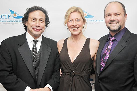 NCTF Honors Nathan Lane – Gordon Edelstein - Laurie Eustis - Curt Columbus