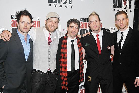 American Idiot Opening – Andrew Call – Ben Thomson – Omar Lopez-Cepero – Declan Bennett – Stark Sands