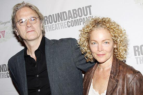 Amy Irving and husband