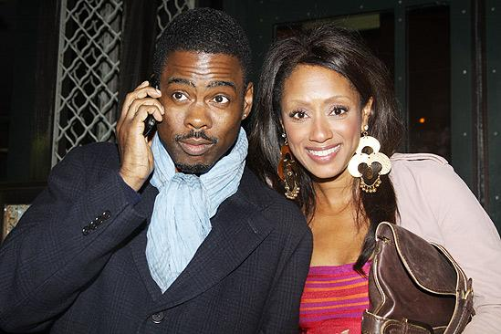 Fences Opening Night – Chris Rock – wife Malaak