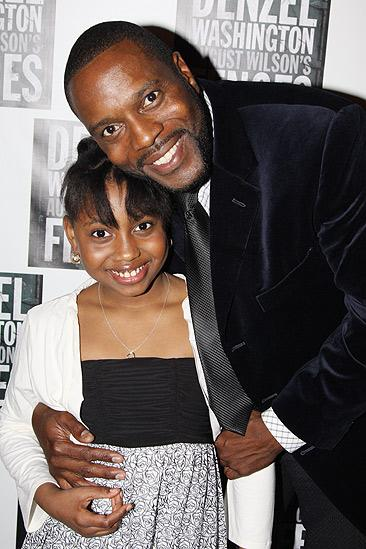 Fences Opening Night – Chad Coleman – SaCha Stewart-Coleman