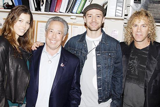 Justin Timberlake at Memphis – Jessica Biel – Kenny Alhadeff – Justin Timberlake – David Bryan