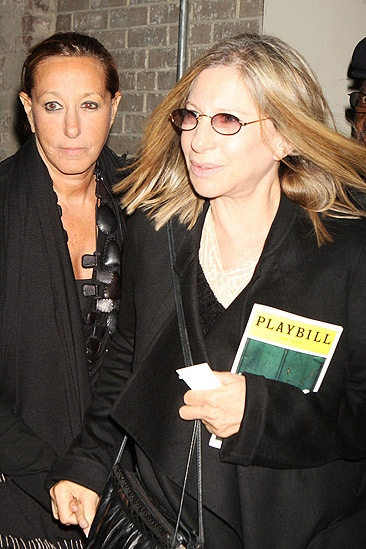 Barbra Streisand at Fences  Barbra Streisand  Donna Karan