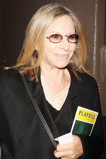 Barbra Streisand at Fences – Barbra Streisand (left)