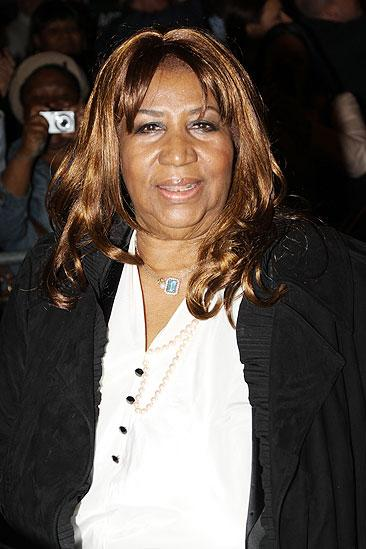 Celebs at Fences  Aretha Franklin