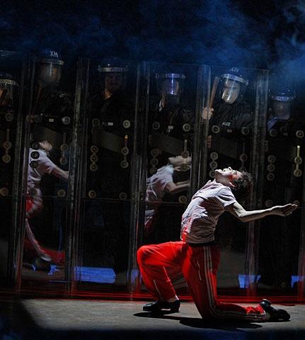 Billy Elliot - Show Photo - David Alvarez (cops)